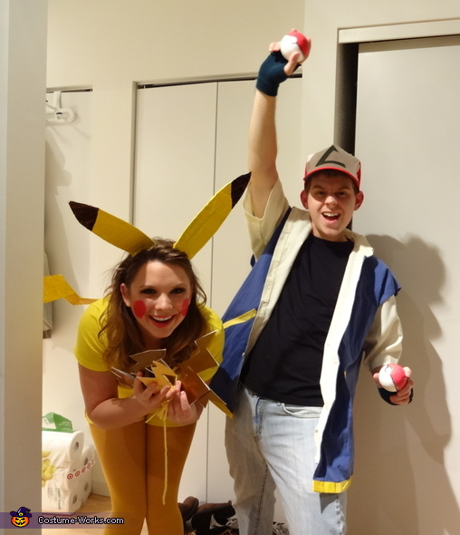 Ash Ketchum and Pikachu Costume