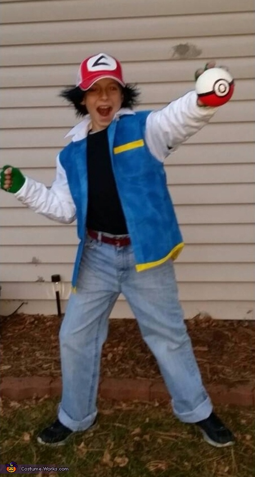 Ash Ketchum From Pokemon Costume
