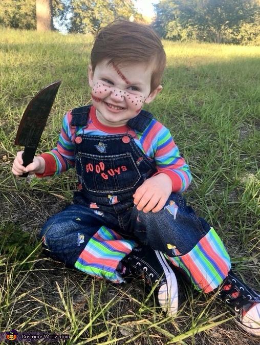 """Chucky Face"", Chucky Costume"