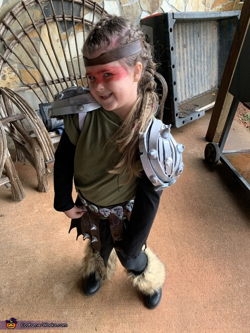Astrid from How to Train Your Dragon Homemade Costume