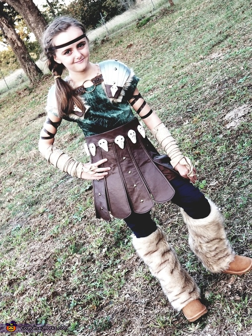 Astrid Hofferson, How to Train Your Dragon Costume