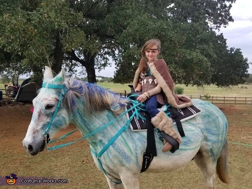Astrid and Dragon, ready for take off, Astrid Hofferson, How to Train Your Dragon Costume