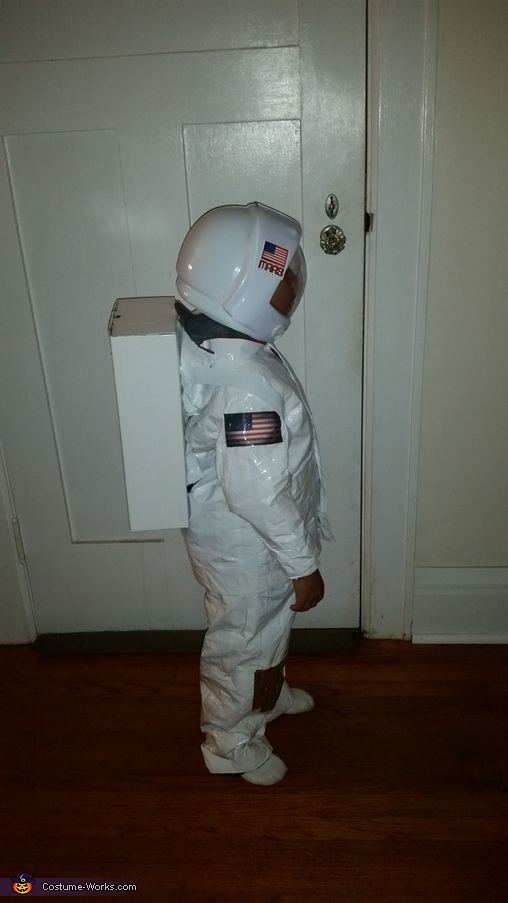 Astronaut Homemade Costume