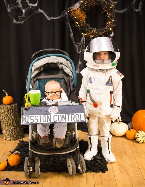 Astronaut and Mission Control Costume