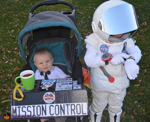 Testing the switches, Astronaut and Mission Control Costume