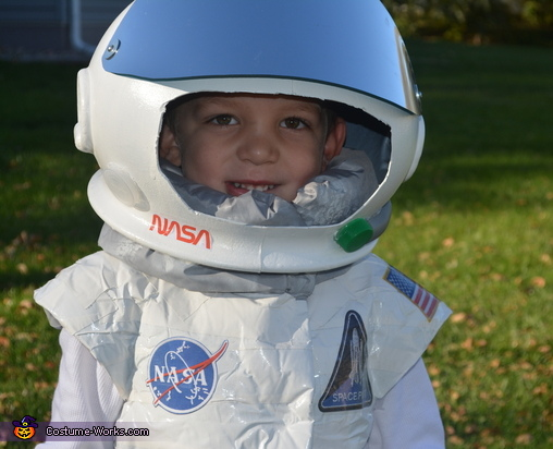 One happy astronaut!, Astronaut and Mission Control Costume