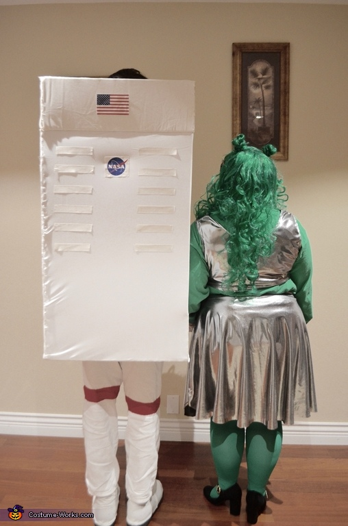 Astronaut Sloth and Alien Homemade Costume