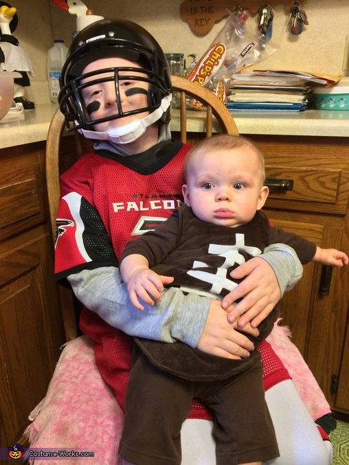 Atlanta Falcons Matt Ryan and his Football Costume
