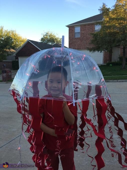 Atolla Jellyfish Homemade Costume