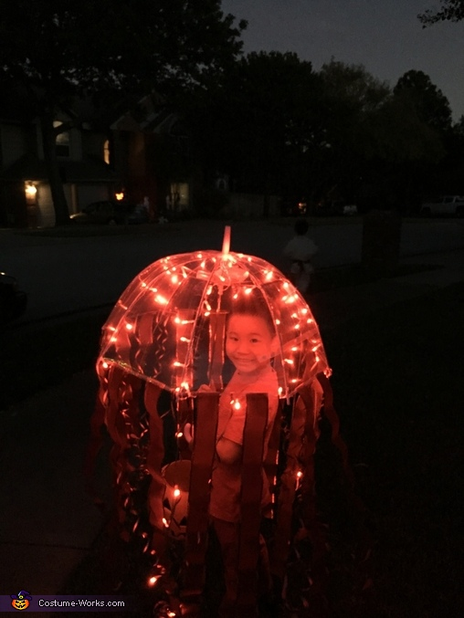 Atolla Jellyfish Homemade Costume