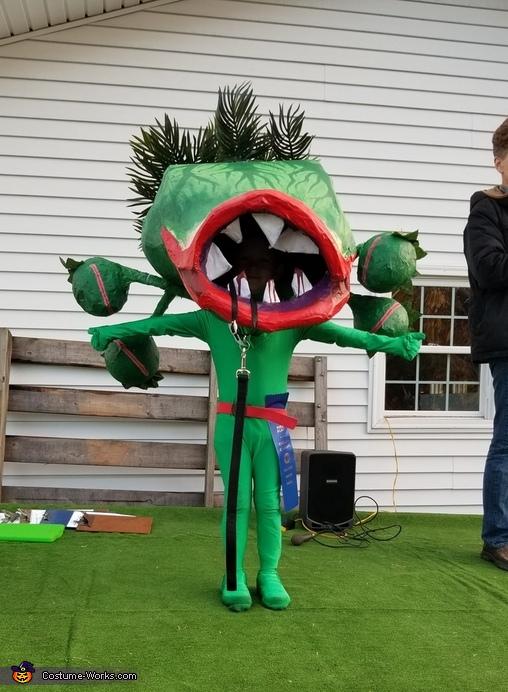 Audrey ahe Venus Flytrap Costume