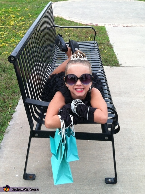 Audrey Hepburn Girls Halloween Costume