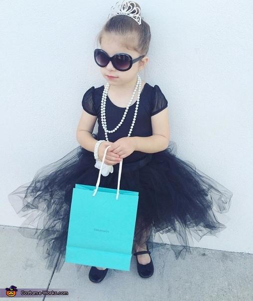 Audrey Hepburn Girl's Halloween Costume