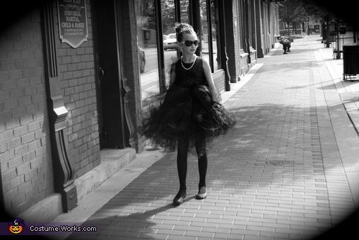 Hannah Audrey Hepburn III, Audrey Hepburn Costume