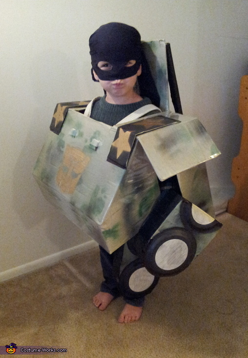 Autobot Transformer Costume