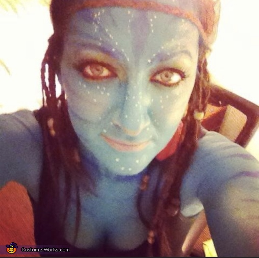 Front view, Avatar Costume