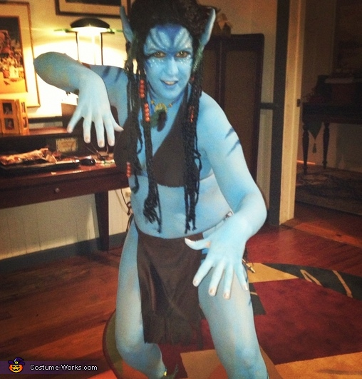 Women's Avatar Costume