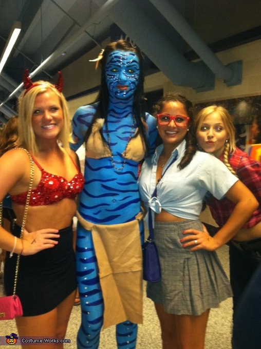 More fans and classmates lol, Avatar Costume