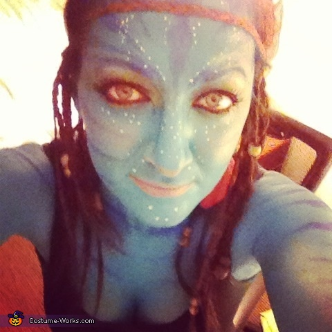 Avatar front view , Avatar Costume