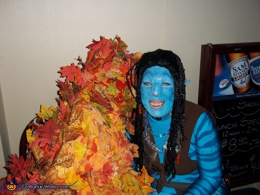 chillin with the leaves,  Avatar Costume
