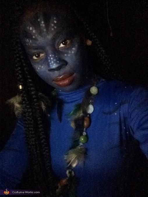 Women's Homemade Avatar Costume