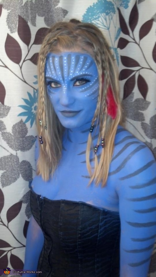 Homemade Avatar Costume