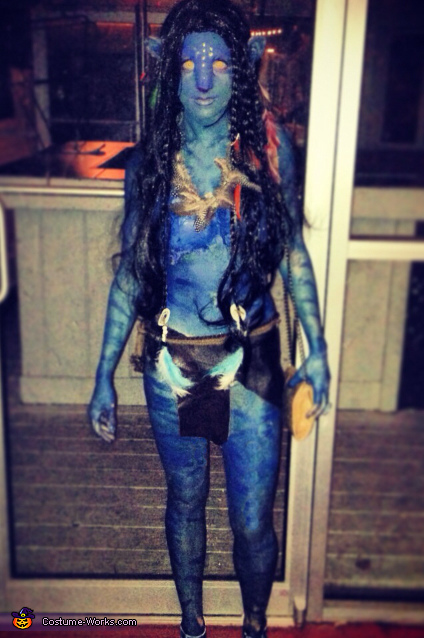 Female Na'vi on the loose!, Avatar Couple Costume