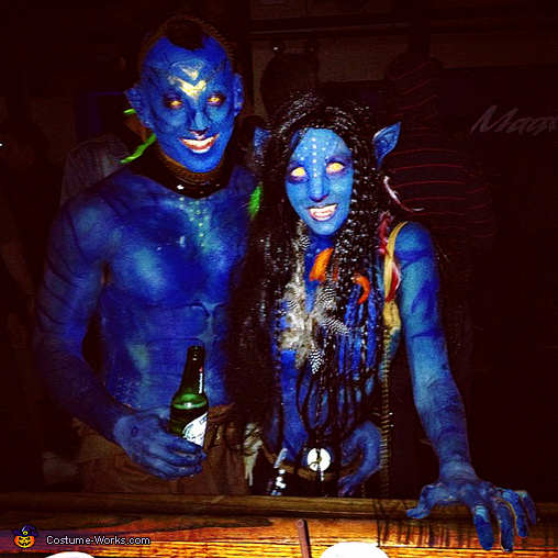 Out on the town., Avatar Couple Costume