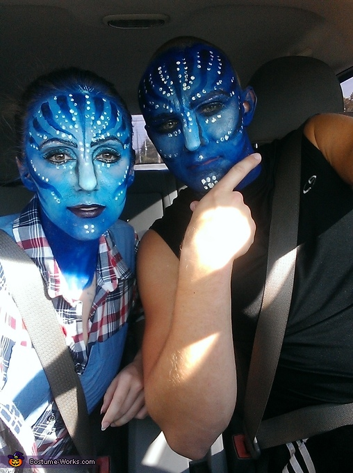 Avatar Couple Halloween Costume