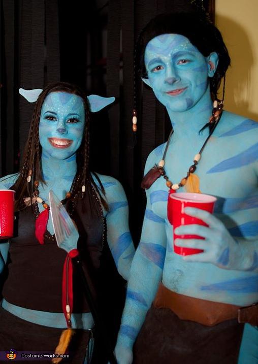 Avatar Couple Costume