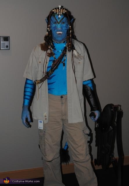 Homemade avatar costume avatar jake sully homemade
