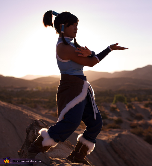 Korra practicing her waterbending forms!,  Avatar Korra Costume