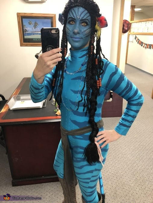Neytiri full body, Neytiri from Avatar Costume