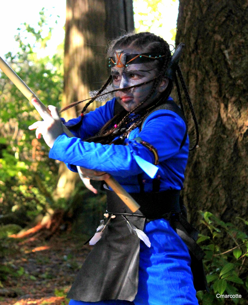 Avatar Ninja Homemade Costume
