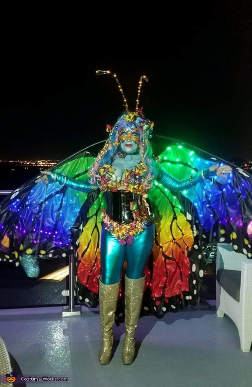 Avatar Queen Butterfly Costume