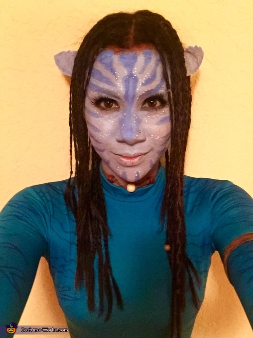 Neytiri selfie., Avatars Jake Sully & Neytiri Costume