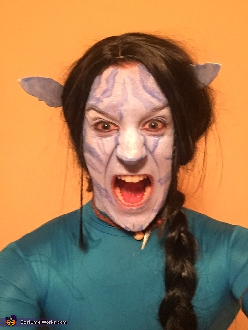 Jake Sully rage face., Avatars Jake Sully & Neytiri Costume