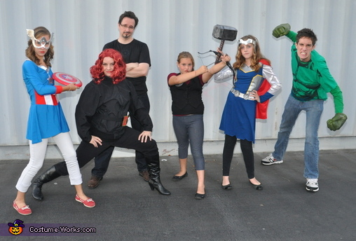 Avengers Family Costume