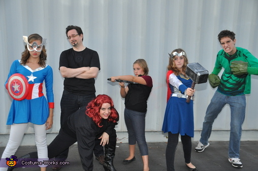 Avenger Power, Avengers Family Costume