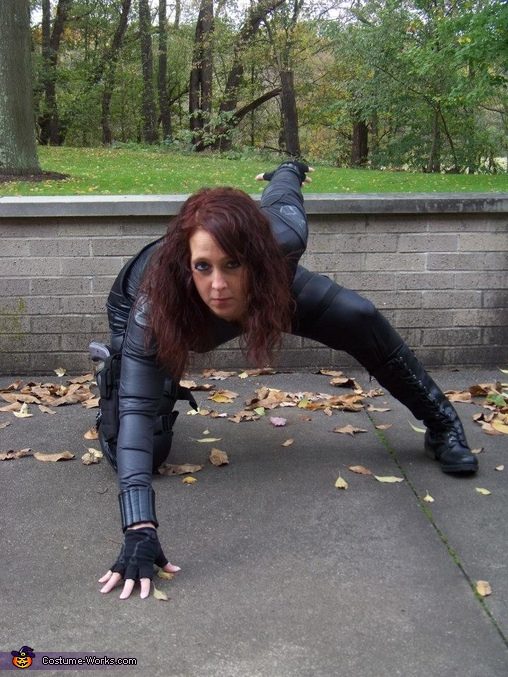 Black Widow from the seen in Iron Man 2, Avengers Cosplay Costumes