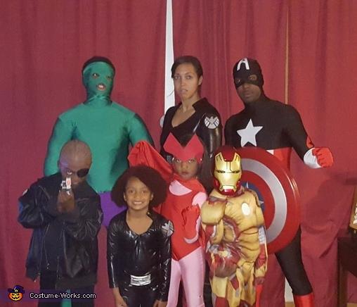Avengers, Avengers Family Costume