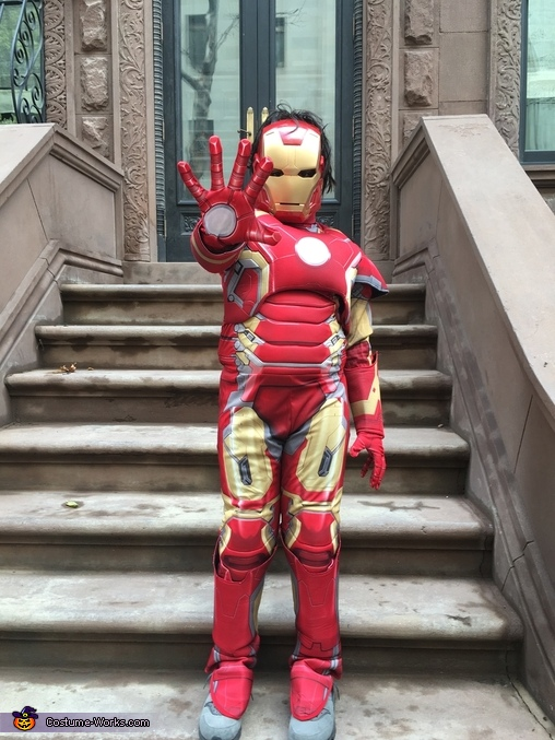 Iron boy!, Avengers Costume