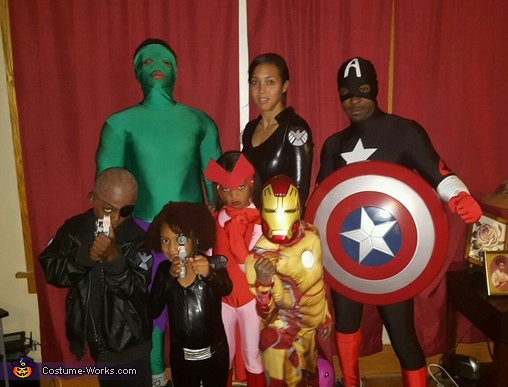 Avengers Family Costume Ideas