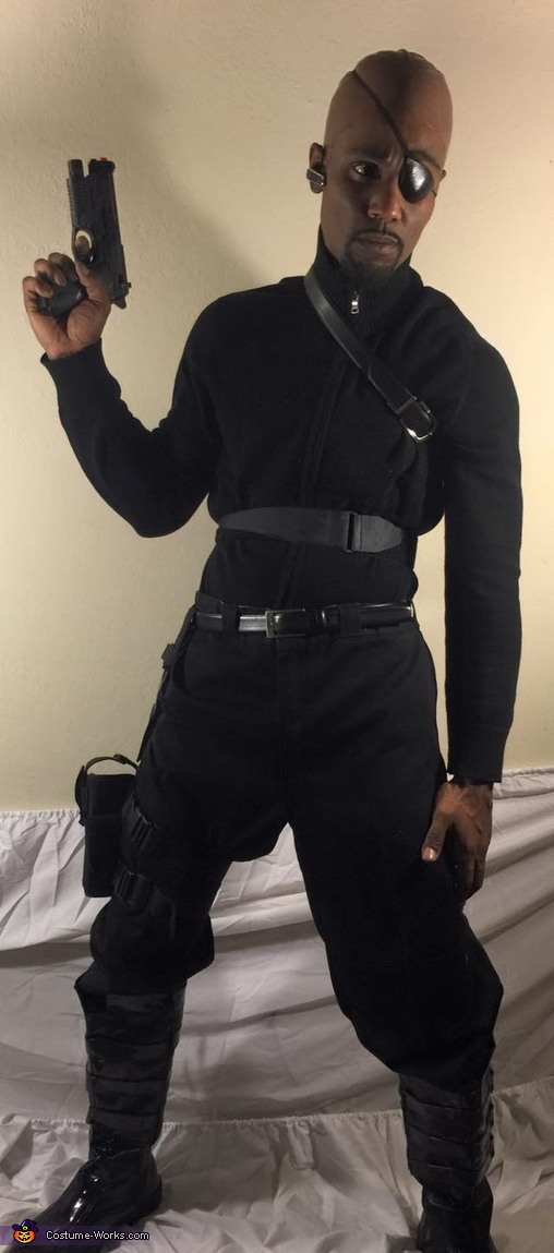 Avengers Nick Fury Costume