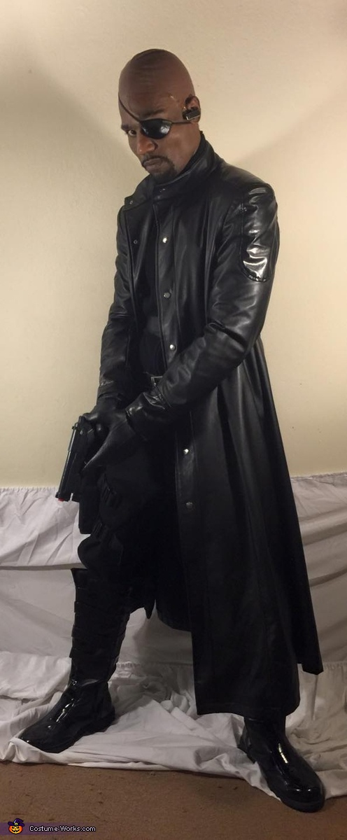 Avengers Nick Fury Homemade Costume