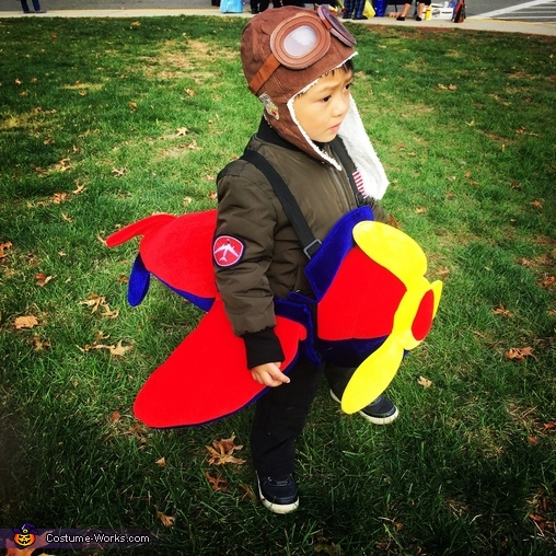 Aviator Marco Costume