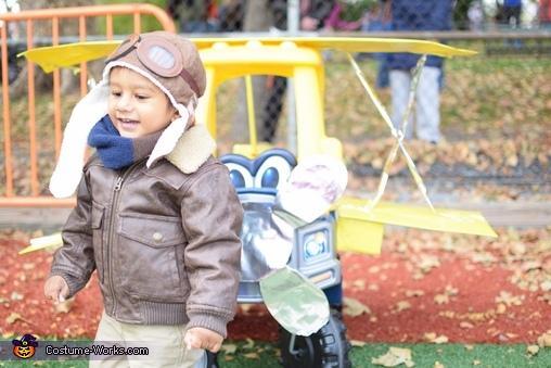 Aviator Baby Homemade Costume