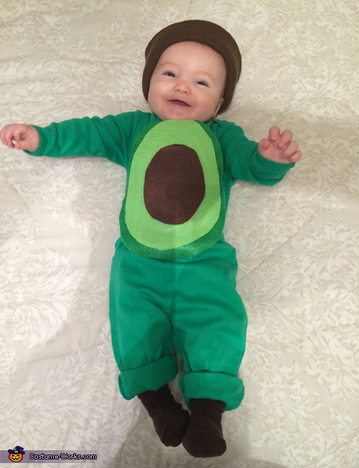 Avocado Baby Costume