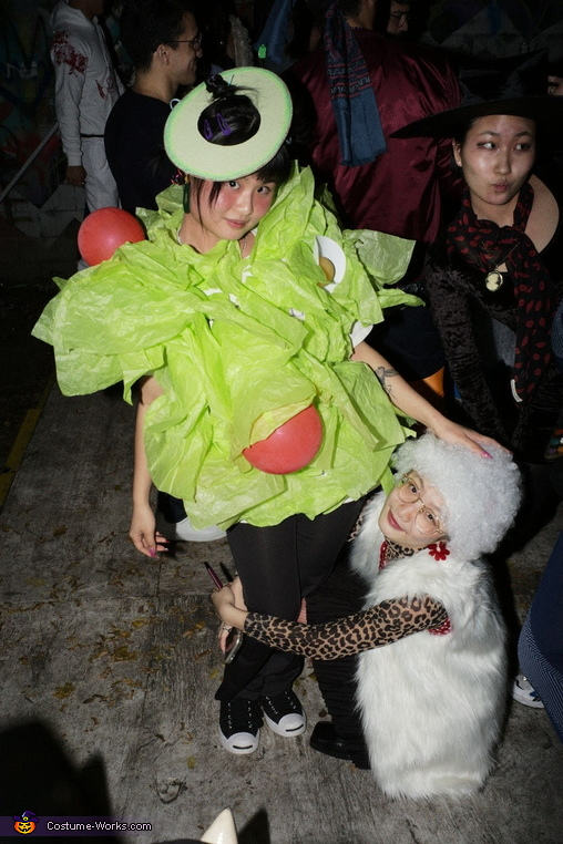 Avocado Salad Costume