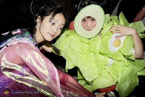 Salad and her friend, Avocado Salad Costume